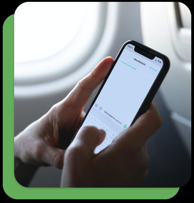 Beratungstermin über Handy vereinbaren