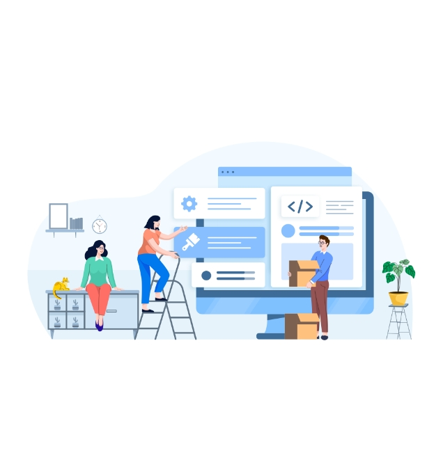 Web Design und Entwicklung im Team